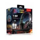 FONE OUVIDO COM MIC HEADSET GAMING KUBITE T-997