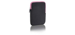 CASE 10 NEOPRENE PRETO E ROSA COLORS MULTILASER BO140