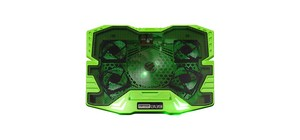 BASE MASTER COOLER GAMER WARRIOR C/LED VERDE AC292