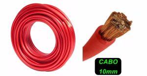CABO FIO AUTO PLASTIC 10MM