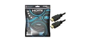 CABO HDMI 5M CHIP SCE PIX 2.0 4K ULTRA HD 018-2225