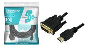 CABO HDMI X DVI-D 10METROS PIX 018-8710