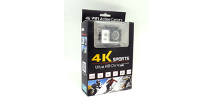 CAMERA SPORT WI-FI ACTION HD 16MP COM LCD 2POL