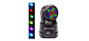 CANHÃO LASER MINI MOVING RGB LK-294
