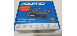 CONVERSOR GRAVADOR DIGITAL AQUARIO FULL HD MODELO DTV 4000S