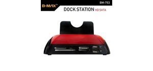 DOCKING STATION HD 2.5 3.5 USB 2.0 / 3.0 SATA / IDE BMAX BM753
