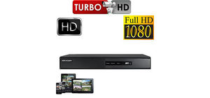 DVR 8 CANAIS HIKVISION TURBO HD-TVI DS-7208 HQHI-F1/N