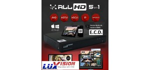 DVR FULL HD  LUXVISION 8 CANAIS (AHD-HDTVI-HDCVI-IP-ANALOGICO)