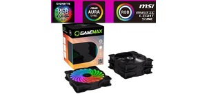 KIT COOLER  120MM GAMEMAX RGB COM CONTROLE CL300