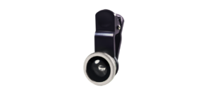 LENTE FOCO REGULAVEL OLHO DE PEIXE FISH EYE CLIP MULTILASER AC314