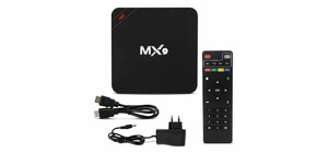 MINI PC TV BOX ANDROID 10.1 MX9 4K 4GB RAM 32GB MEM WIFI 2.4/5GHZ EXCLUSIVO NETFLIX YOUTUBE