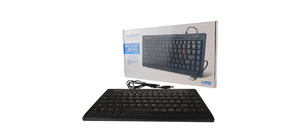 TECLADO USB EXBOM BK-M57 MULTIMIDIA MINI