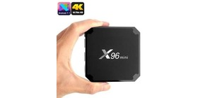 MINI TV BOX X96 4K ANDROID 7.1  2GB RAM 16 GB DE MEMORIA INTERNA