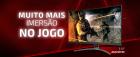 MONITOR  CURVO AOC GAMER AGON 31.5 LED FULL HD 165 HZ