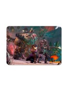 MOUSE PAD GAMER G FIRE MP2020B 36X25