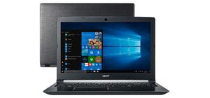 NOTEBOOK ACER INTEL CORE I3 4GB 1TB TELA 15.6 WIN 10 A315-53-34Y4