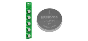 PILHA CR 2450 INTELBRAS