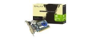 PLACA DE VIDEO GEFORCE GALAX GT 710 2GB DDR3 64BITS