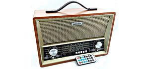 RADIO 8W FM/AM/SW1 LIVSTAR CNN-2068BT BLUETOOTH MARROM