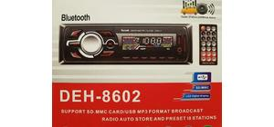 SOM AUTOMOTIVO AUTO RADIO BLUETOOTH MP3 4X60W UB SD DEH-8602
