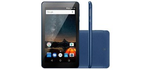 TABLET 7 MULTILASER NB274 M7S PLUS 1G QUAD CORE 8GB CINZA E AZUL