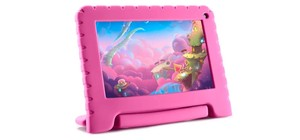 TABLET KID PAD GO ROSA 1GB RAM ANDROID 8.1 MULTILASER NB303