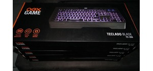 TECLADO USB GAMER OEX TC203 GAME BLADE