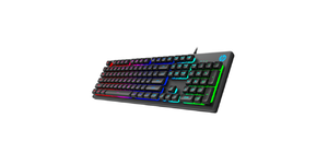 TECLADO GAMER LED RGB HP K500F