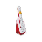 TELEFONE SEM FIO INTELBRAS TS3110 ID CHAMADAS BRANCO E VERMELHO